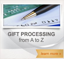 Gift Processing from A to Z